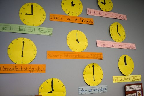 An organized schedule is important for teletherapy sessions.
